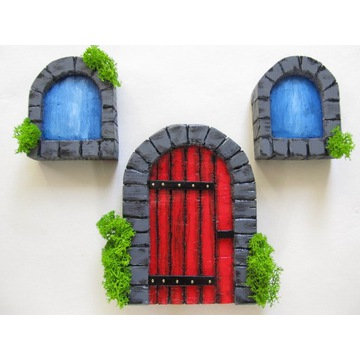 Fairy door /Drzwi wróżki, elfa, skrzata/ Hand Made