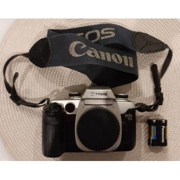 Canon EOS 50 body lustrzanka analogowa