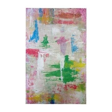 Art deco modern minimalism obraz ręcznie malowany