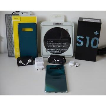 Samsung S10+ 128GB DUOS Green Gwarancja
