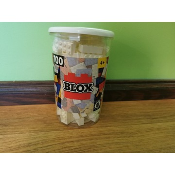 Klocki BLOX 100 sztuk 2x4 białe jak Lego