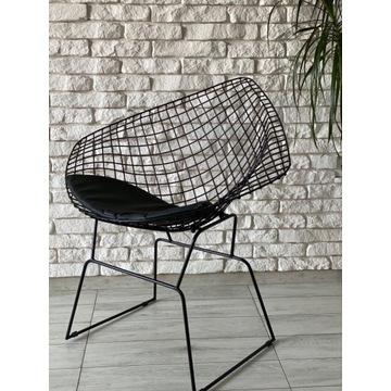 Nowoczesne krzesło metalowe. Industrialne, loft.