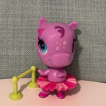 Littles Pet Shop - figurka, baletnica hipopotam