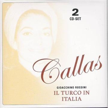 MARIA CALLAS STUDIO Rossini Turek we Włoszech 2cd