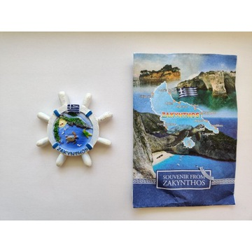 Magnes na lodówkę Zakynthos, Zante, Grecja Caretta