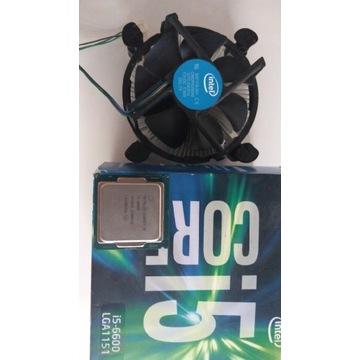 Procesor i5 6600  box + chlodzenie