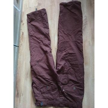spodnie scott xl xxl snowboard burton dc bordowe