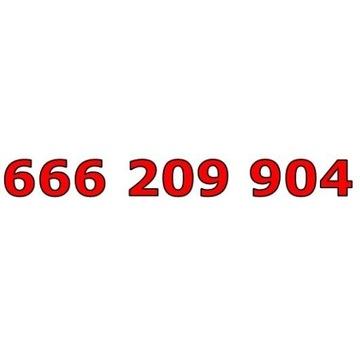 666 209 904 ZŁOTY ŁATWY NUMER STARTER