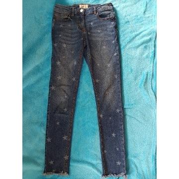 Spodnie jeans Next dziewczęce r. 152 JAK NOWE