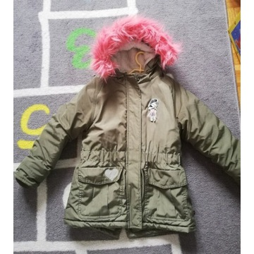 Parka zimowa rozm 116 Cool club