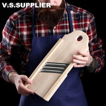 Szatkownica  drewniana na 3 ostrza  40 x16 cm