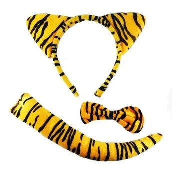 Opaska Tygrysek tygrys uszy tygyska