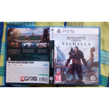 Assassin's Creed Valhalla PS5 stan idealny ENG PL