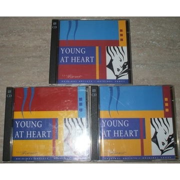 YOUNG AT HEART 3 SKŁADANKI CD LATA 80-te RAZEM 6CD