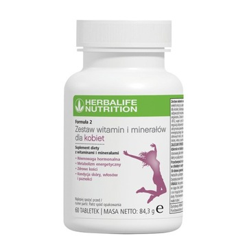 Herbalife zestaw witamin dla kobiet