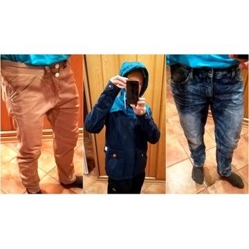 Spodnie kurtka H&M Zara 5 szt S-M na 170-175 cm