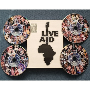 Live Aid (Dire Straits, Madonna, Queen) - 4xDVD
