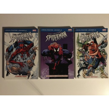 3 x The Amazing Spider-man by Straczynski & Romita