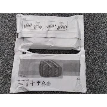 Filtry 6057 pochlaniacz 3M kpl 2szt za 29.50zl