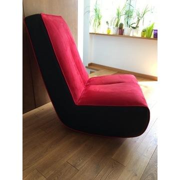 Nowoczesny fotel bujany Iris marki ISTE - OKAZJA