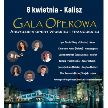 Gala Operowa - Arcydzieła opery włoskiej i francus