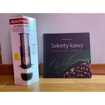 "Aeropress + gratis ""Sekrety kawy"""