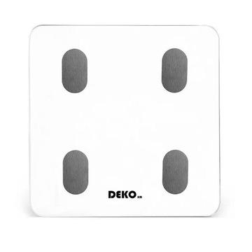 DEKO Inteligentna waga łazienkowa white