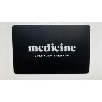 Karta podarunkowa do sklepów Medicine