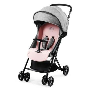 Wózek spacerowy spacerówka Kinderkraft Lite Up róż