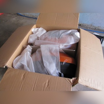 HONDA VARADERO 1000 kufry boczne złote NOWE