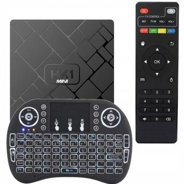 TV BOX HK1 Mini SMART + KLAWIATURA i8