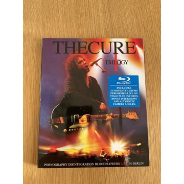 The Cure Trilogy live bluray