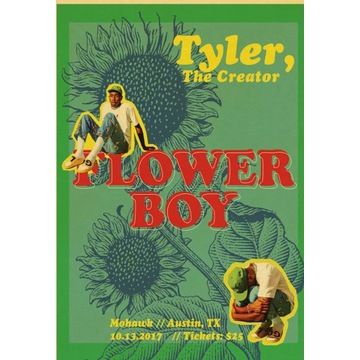 Plakat Tyler the creator Flower Boy