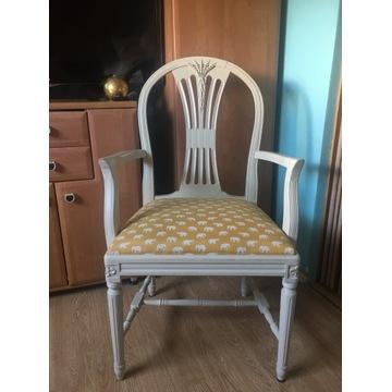 Aga krzesło PRL Chierowski krzesła vintage Warszawa Wilanów