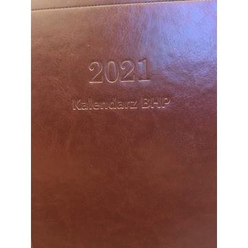 Kalendarz BHP 2021 oprawa twarda