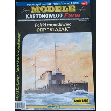 MKF torpedowiec ORP Ślązak  -  skala 1:200