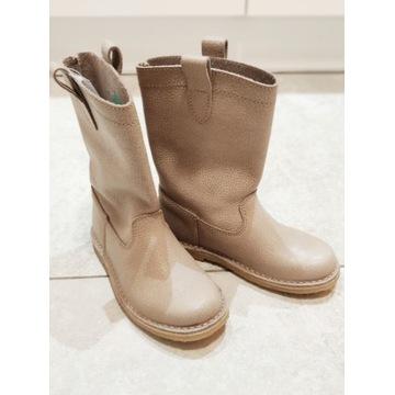 Nowe skórzane buty dla dziecka rozmiar 30