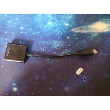 przejściówka HDMI na VGA