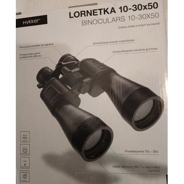 Lornetka firmy Hykker 10-30 x 50 nowa