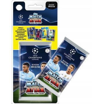 UEFA Champions MATCH AND ATTACK 2015/16   108 KART