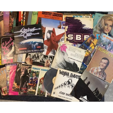 Zestaw 52Płyt winylowych - hity - różne tytuły