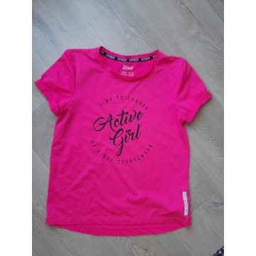 CRIVIT różowa bluzka 134/140