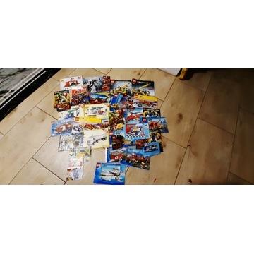 Lego City, Technic i inne, 11kg + instrukcje