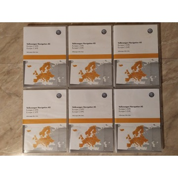 Karta SD nawigacji VW Europa 1 V9 5NA919866