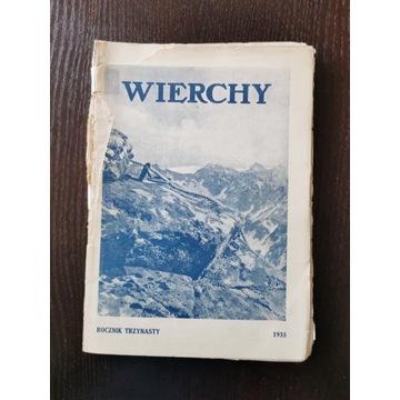 Wierchy ROCZNIK TRZYNASTY 1935