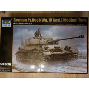 Trumpeter 1/16 Pz.Beob.Wg.IV Ausf.J - 2000 części