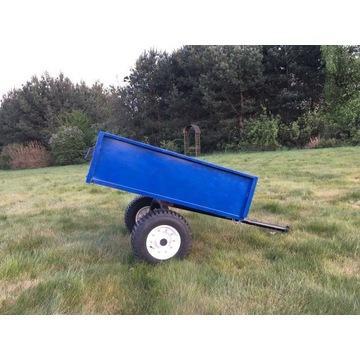 Przyczepka do traktorka quada kosiarki ogrodowej