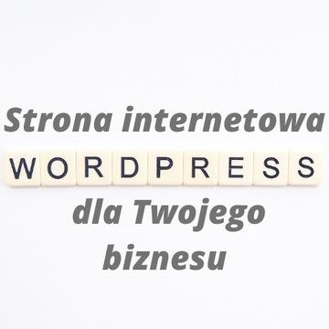 Stworzenie strony internetowej WordPress