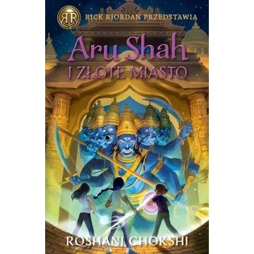 Aru Shah i Złote Miasto. Kroniki Pandawów. Tom 4
