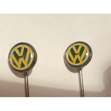 Znaczek VW metalowy oryginał 1991 IAA Nowy!